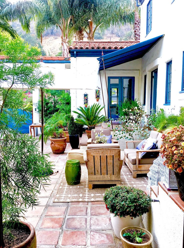 My Courtyard: Noticing Beauty From A Different Perspective