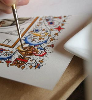 Making a Medieval Book: Workshops and Classes for the Curious Artisan
