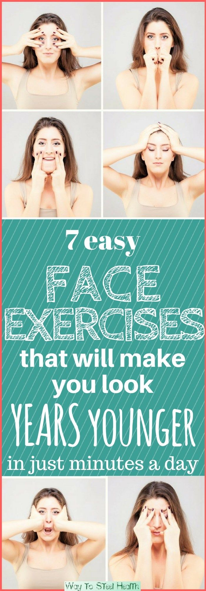 Your facial muscles need exercise just as much as the rest of your body. And facial exercises work just like regular muscle exercises.