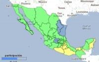 El mapa electoral de México. Foto: Google Maps