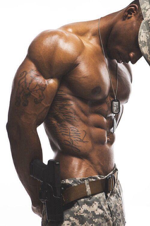 Monster gay black