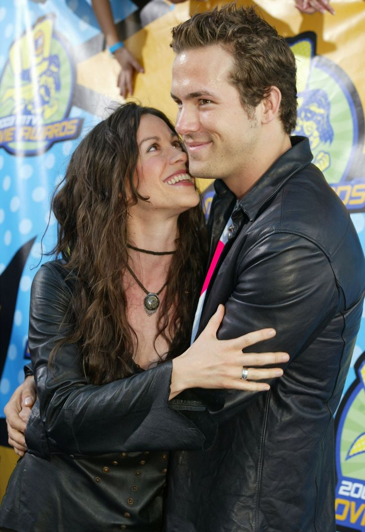 Alanis Morissette and Ryan Reynolds - The Canadian couple first met at Drew Barrymore's birthday party in 2002. They dated for two years before Reynolds proposed in 2004, but the couple never made it to the altar. In 2007, Reynolds and Morissette officially called it quits. Morissette's 2008 album Flavors of Entanglement is about her split from the actor.