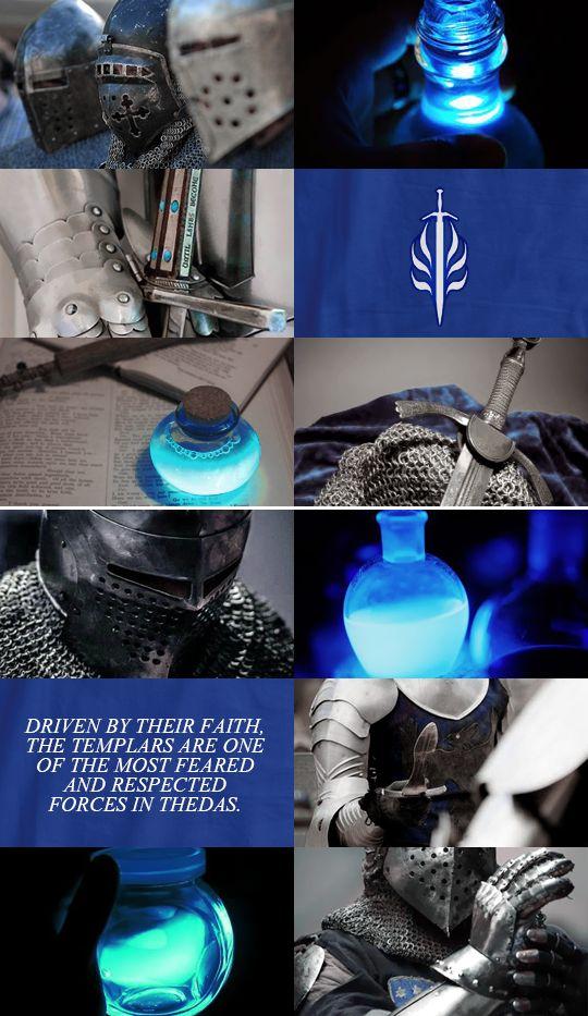 DRAGON AGE Aesthetics » Templar Order | Dragon Age Warden ...