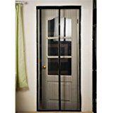 """Cozime Magnetic Door Screen Insect Instant Magic Mesh 39 x 83 Inch   FITS ALL DOOR SIZES UP TO 36″x82″: Instant screen size 39"""" x 83"""" – fits door openings up to 36″ x 82″. Please measure your door! If your door measures 36″ or less in width and..."""