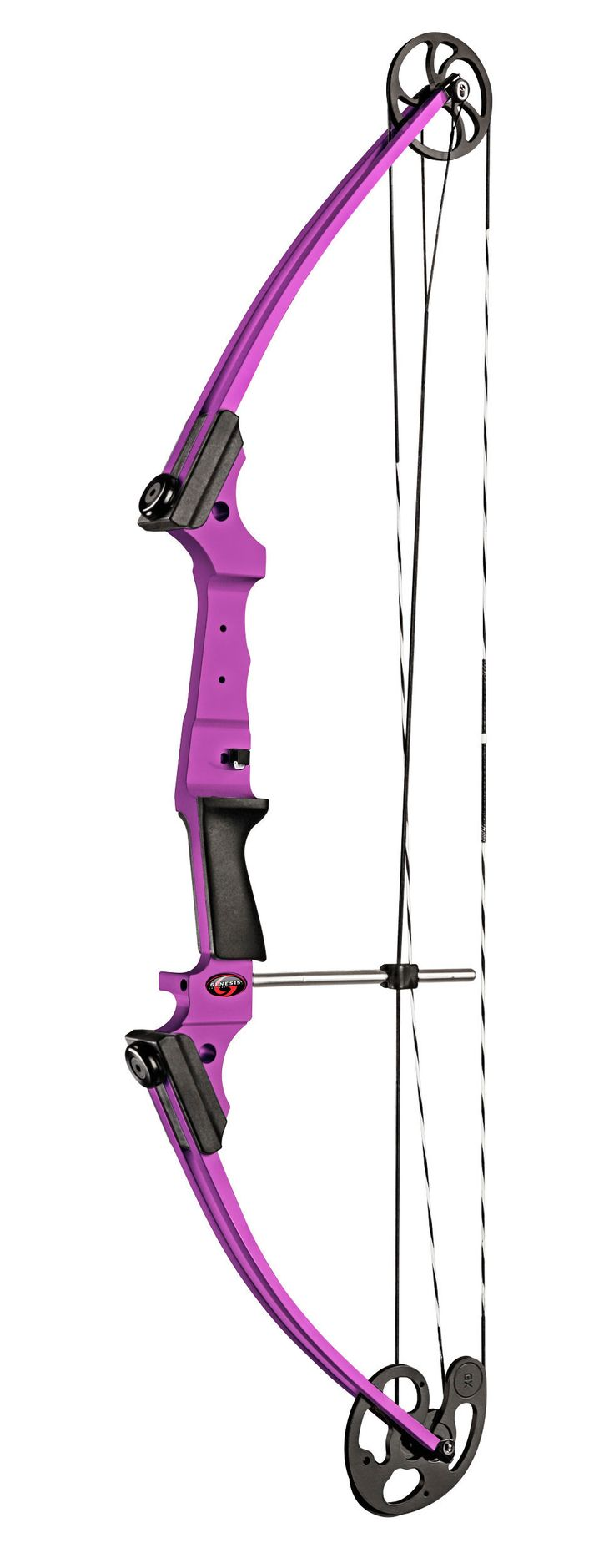 Genesis Original | Genesis® Bow #bbarchery #mission #archery #purple #archeryinschools