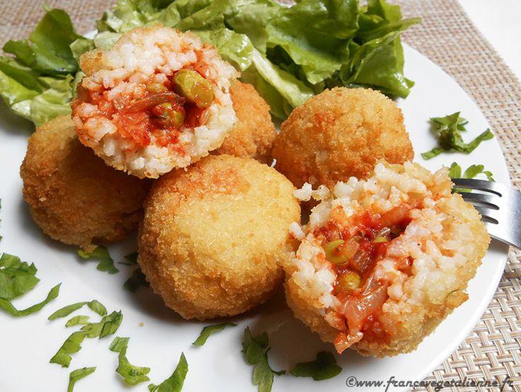 Les 25 meilleures id es de la cat gorie cuisine sicilienne - Cuisine sicilienne arancini ...