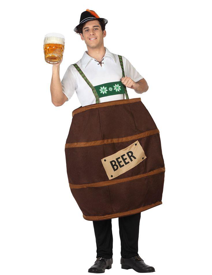 Este disfraz de barril de cerveza es perfecto para ser el más original en la…