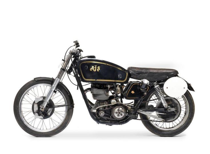 1950 AJS 7R 350CC RACING MOTORCYCLE