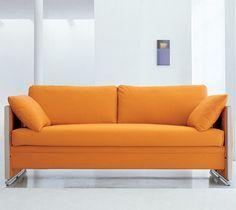 Sofá beliche é novidade para quem precisa economizar espaço.