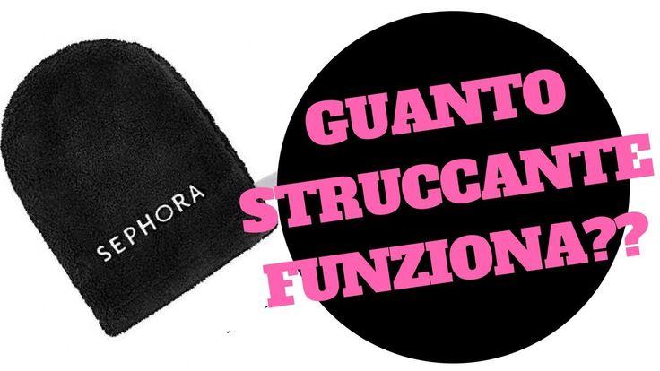 PRIMA IMPRESSIONE Sephora GUANTO STRUCCANTE E BEAUTY NIGTH ROUTINE - Mar...