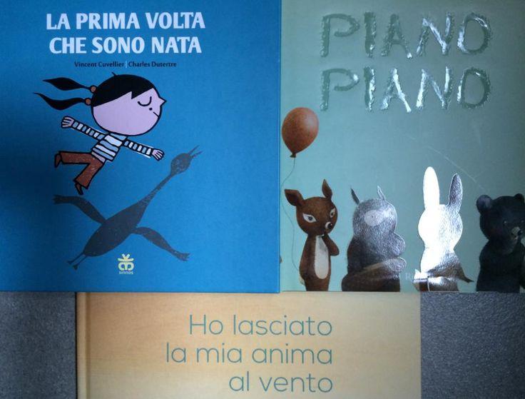 #titolibriamo di Michela Natale Sellitto e Arturo Montieri - la prima volta che sono nata - piano piano - ho lasciato la mia anima al vento