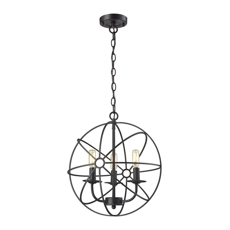 elk lighting yardley globe pendant light in oilrubbed bronzeu2026
