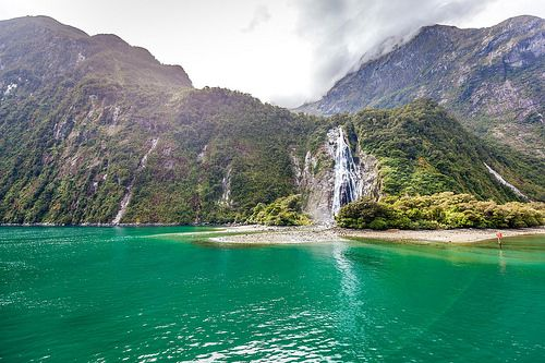 Milford Sound Cruise Southland New Zealand