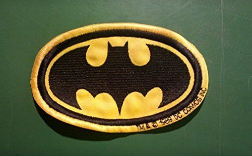 Regalamelo.es   Parches batman parches para ropa parches termoadhesivos parches bordados rock parches rock parches Batman 7,5 cm