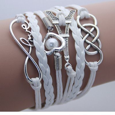 Vintage Fashion Women Jewelry Leather Multilayer Bracelets Jewellery