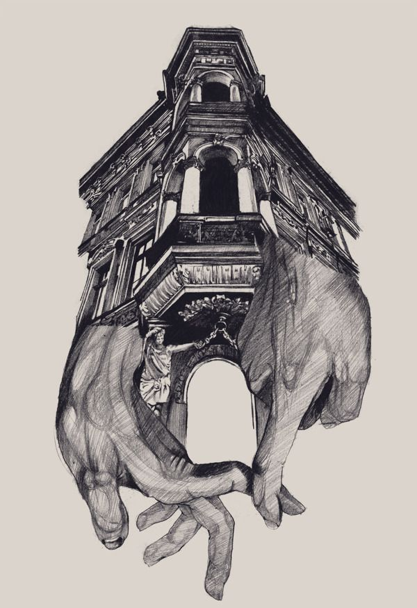Best Surrealism Drawing Ideas On Pinterest Anatomy Tattoo