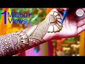 Latest 3D Mehndi Designs For Hands | Arabic Henna Designs by Jyoti Sachdeva. - YouTube