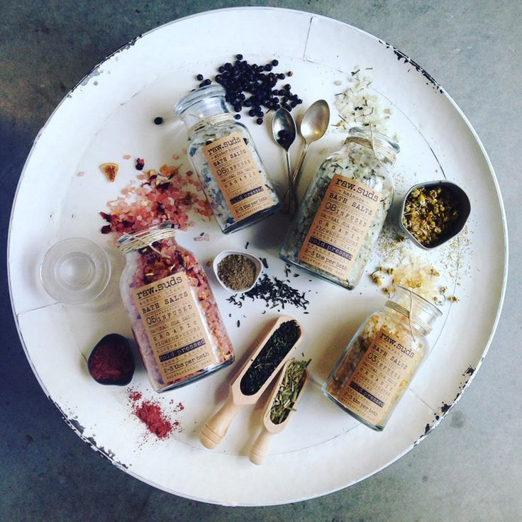 The Finders Keepers   Featured Product: Bath Salts by raw.suds