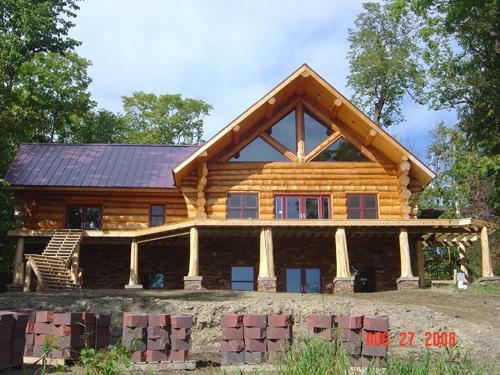 Heim log homes, Bemidji
