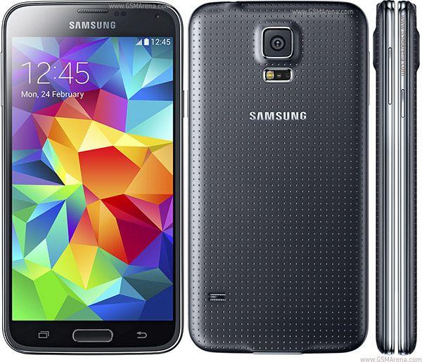 SAMSUNG GALAXY S5 G900F 4G 16GB UNLOCKED PHONE (SIM FREE) BLACK