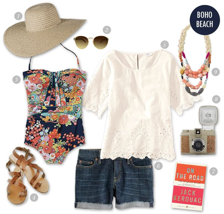Pack Like a Pro: Beach Vacation on What I Wore - Boho Beach