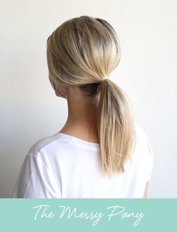 Trend Alert 3 Easy Ways To Wear A Low Pony Oh Your
