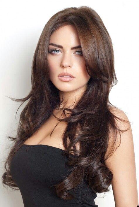 Brown Hairstyles-Brown Haircolor-Esmer Bayanlar Sizi Unutmadık İşte esmer sa…