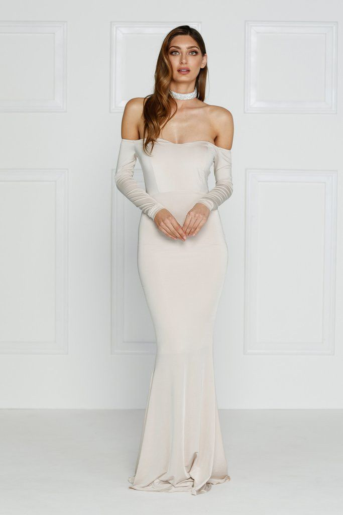 Alamour The Label - Salma Gown - Ivory