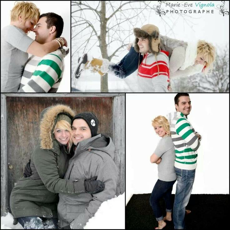 Photos couple hiver winter