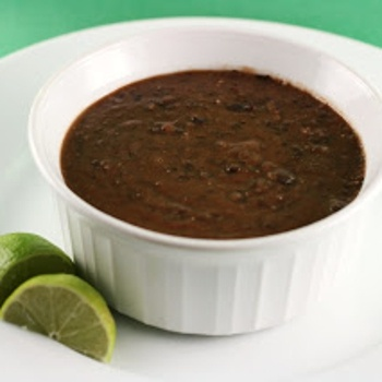 Tangy Black Bean Soup in Slow Cooker from Stephanie O'Dea's blog