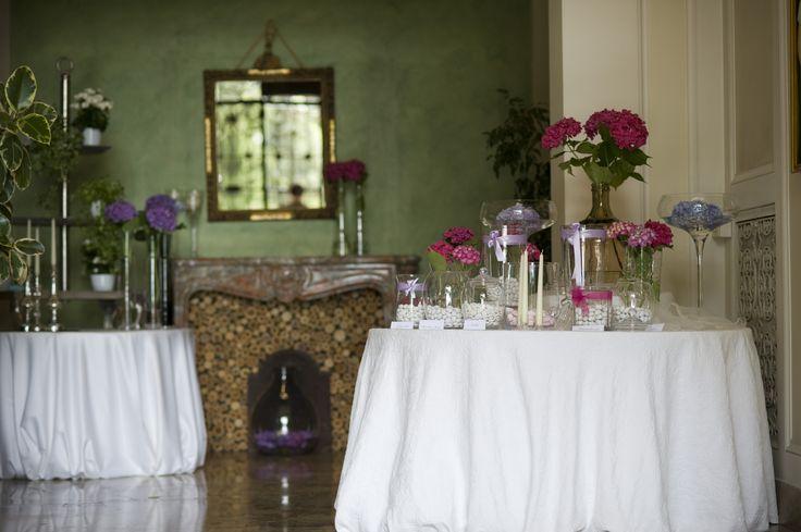 Ingresso di Villa Acquaroli, una location per matrimoni e ricevimenti