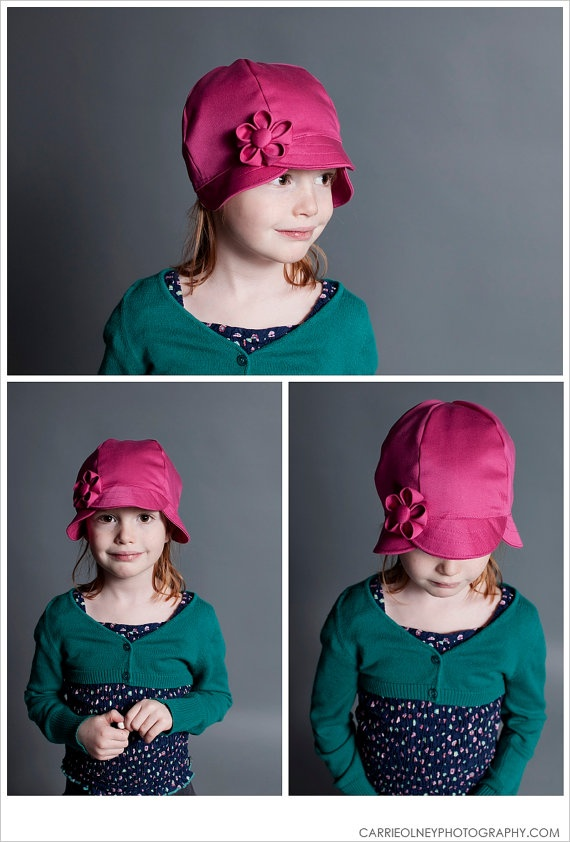 Kids adjustable Tulip style organic hat by Toadinatree on Etsy, $34.00