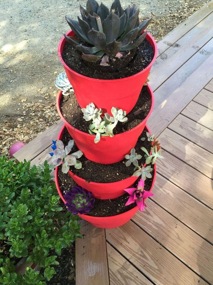 Best 25 Tiered Planter Ideas On Pinterest Herb Garden