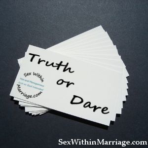 "Remember playing Truth or Dare as a teenager?  If not, let me explain.  Truth or dare is a simple game where your fellow gamer requests a ""Truth"" or a ""Dare"", and then you proceed to form a question, or a dare, to put"