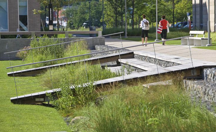 Salem State University Marsh Hall Landscape Architect