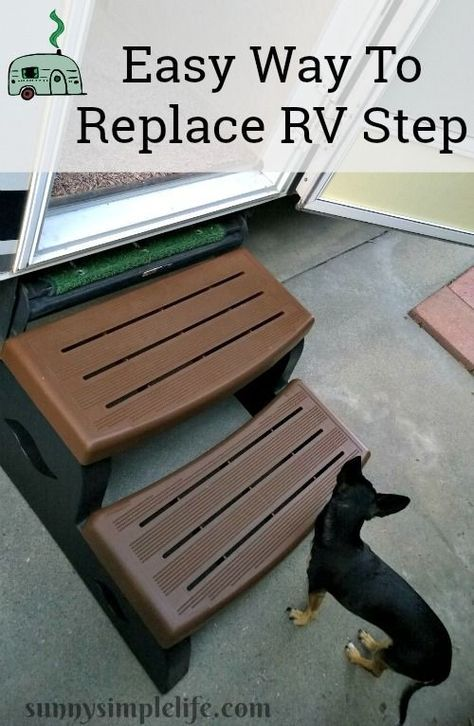 Easy RV Step Replacement