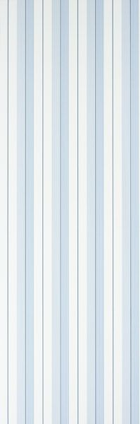 Designers Guild - Aiden Stripe - Blue/Navy/White - Wallpaper