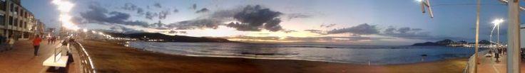 Paronamica Diurna de Playa Las Canteras