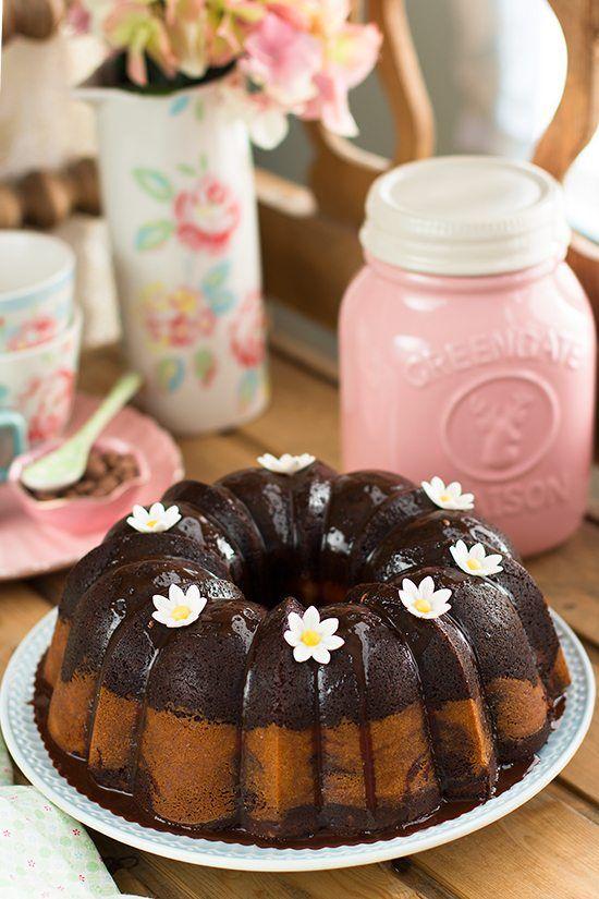 Mis 7 Trucos Para Un Bundt Cake Perfecto: {Bundt Cake De Chocolate Y Queso}
