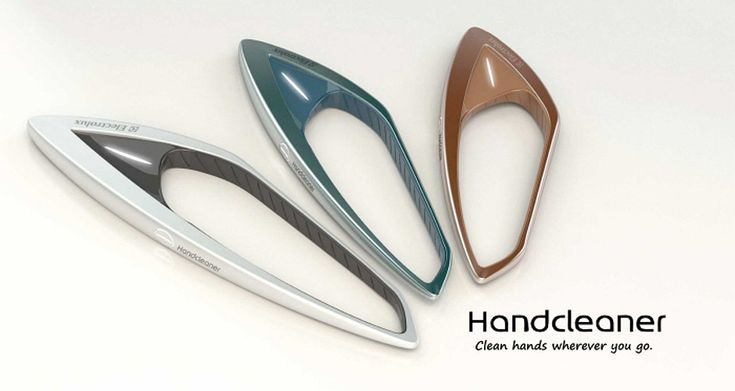 The Electrolux HandCleaner Project is the brainchild of Érik Gurski. The conceptual hand cleaner is a portable and eco-friendly alternative to hand sanitizers on the market at the moment.