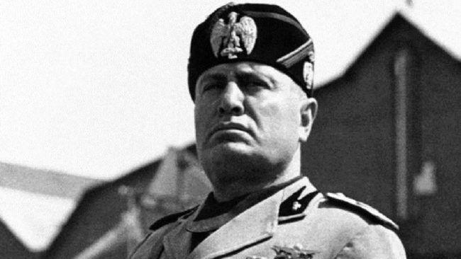 Akhir tragis diktator Italia, Benito Mussolini