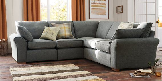 Having the family over this summer? Then you'll be needing somewhere to sit them all! ;) This Garda Modular grey corner sofa is definitely the statement your home needs.