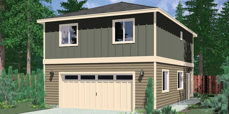 7 best carriage house plans images on pinterest carriage for 2 bedroom garage apartment