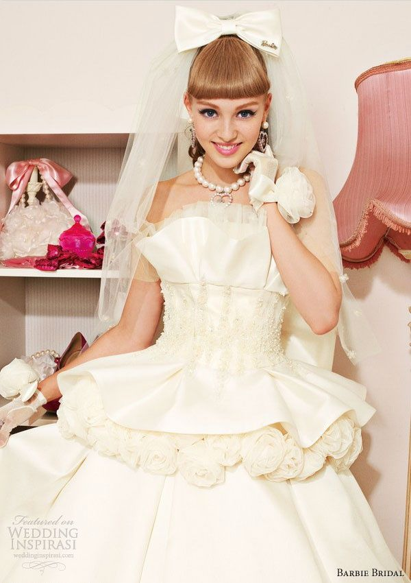 1000+ ideas about Barbie Wedding Dress on Pinterest ...