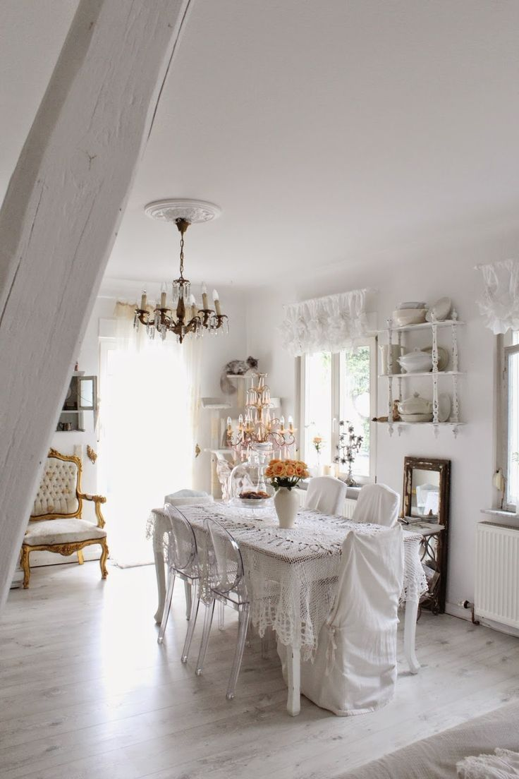 322 best shabby chic ~ diningroom images on pinterest
