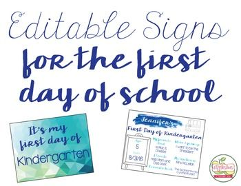 This fun sign is perfect for printing on the first day of school and framing! Just type your child's information into the blank fields. All fonts are embedded into the document, meaning you only need 2 minutes to create a yearly tradition! In order to use this document, you must have Adobe Reader, which you can download for FREE, here --> https://get.adobe.com/reader/Just open the PDF in Adobe Reader and you can have a sign ready to go in no time!