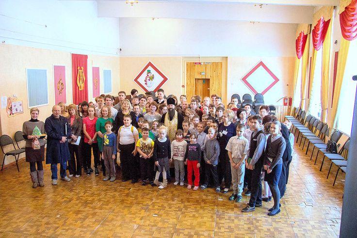 Посещение школы-интерната № 19 и средней школы № 29 города Коломны