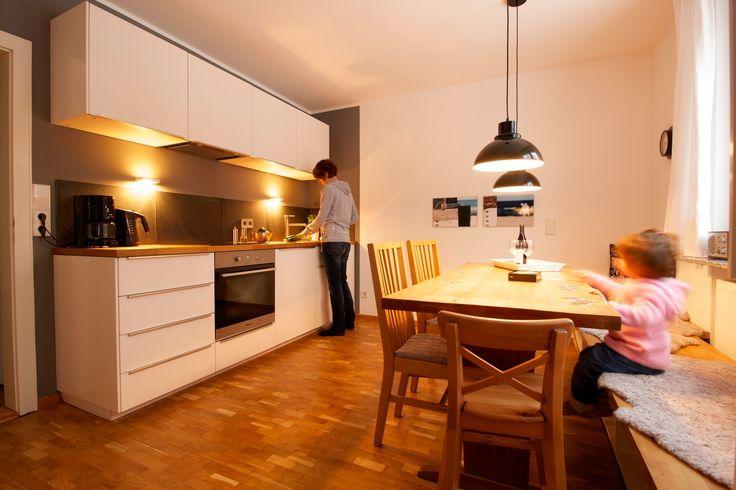 Gemütliche Küche im Ferienhaus Kleine Flucht am Meer in Zinnowitz auf Usedom