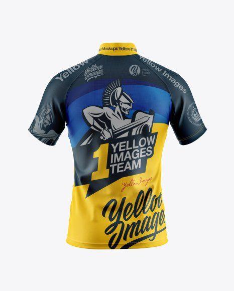Cycling Jersey Mockup Free Download di 2020 | Mockup