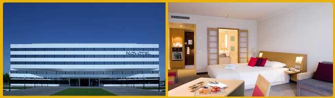 Novotel München Airport    Nordallee 29, 85356 München  Park Sleep Fly - Webmobilisten
